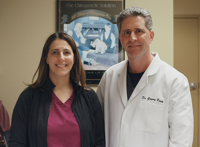 Chiropractor Owings Mills MD Robin Steinberg and Gregory Kersh